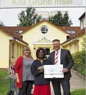 Spendenübergabe an Tat für Tat Malawi e.V.